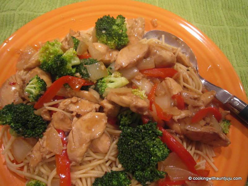 weight watchers chicken stir-fry recipe