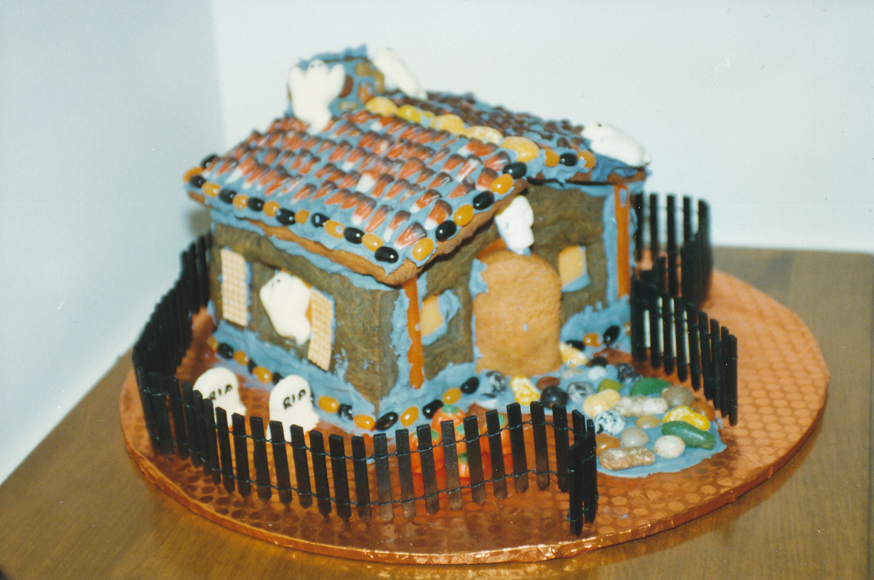 One Of The Many Gingerbread Houses I Made ...