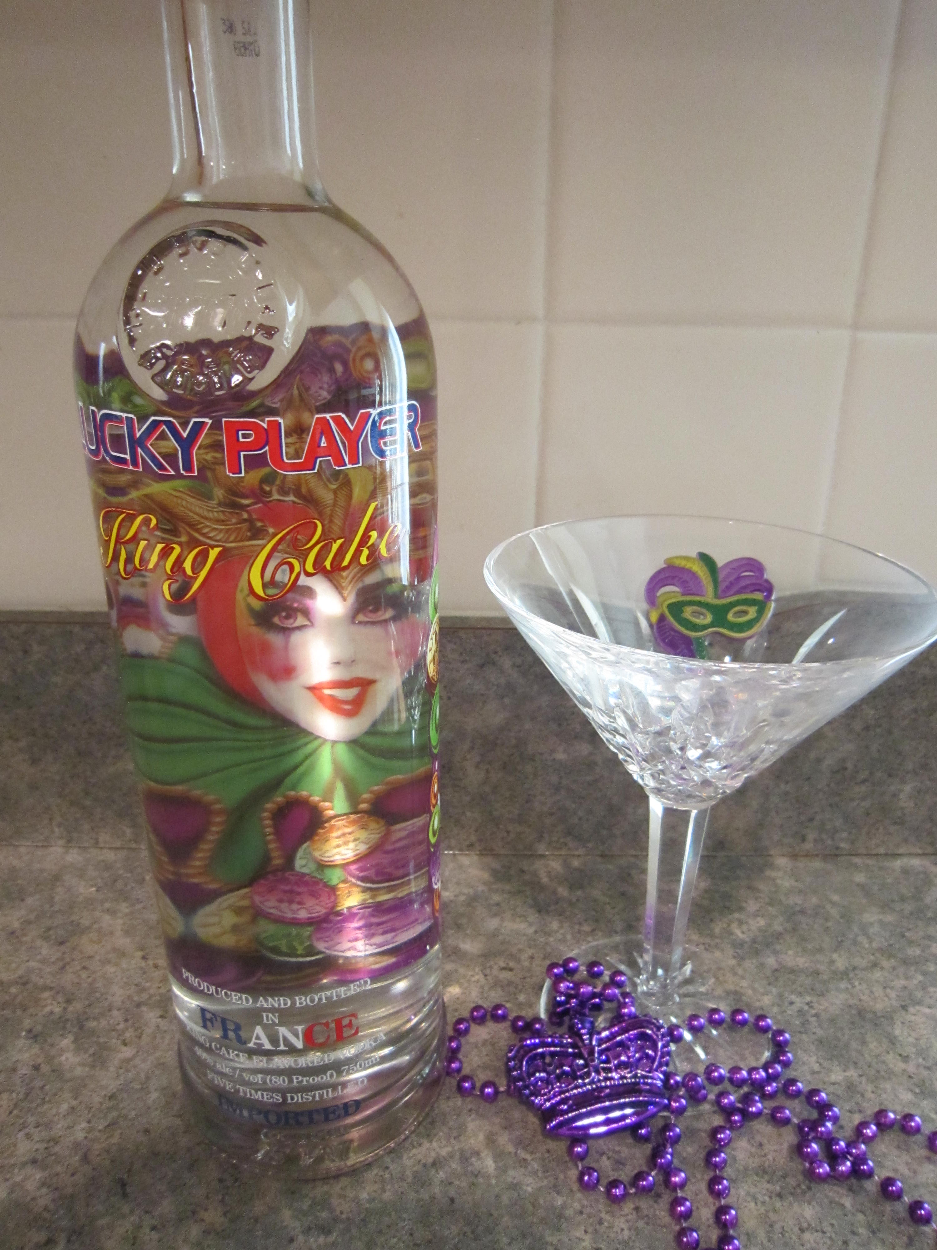 lucky player king cake vodka for sale online