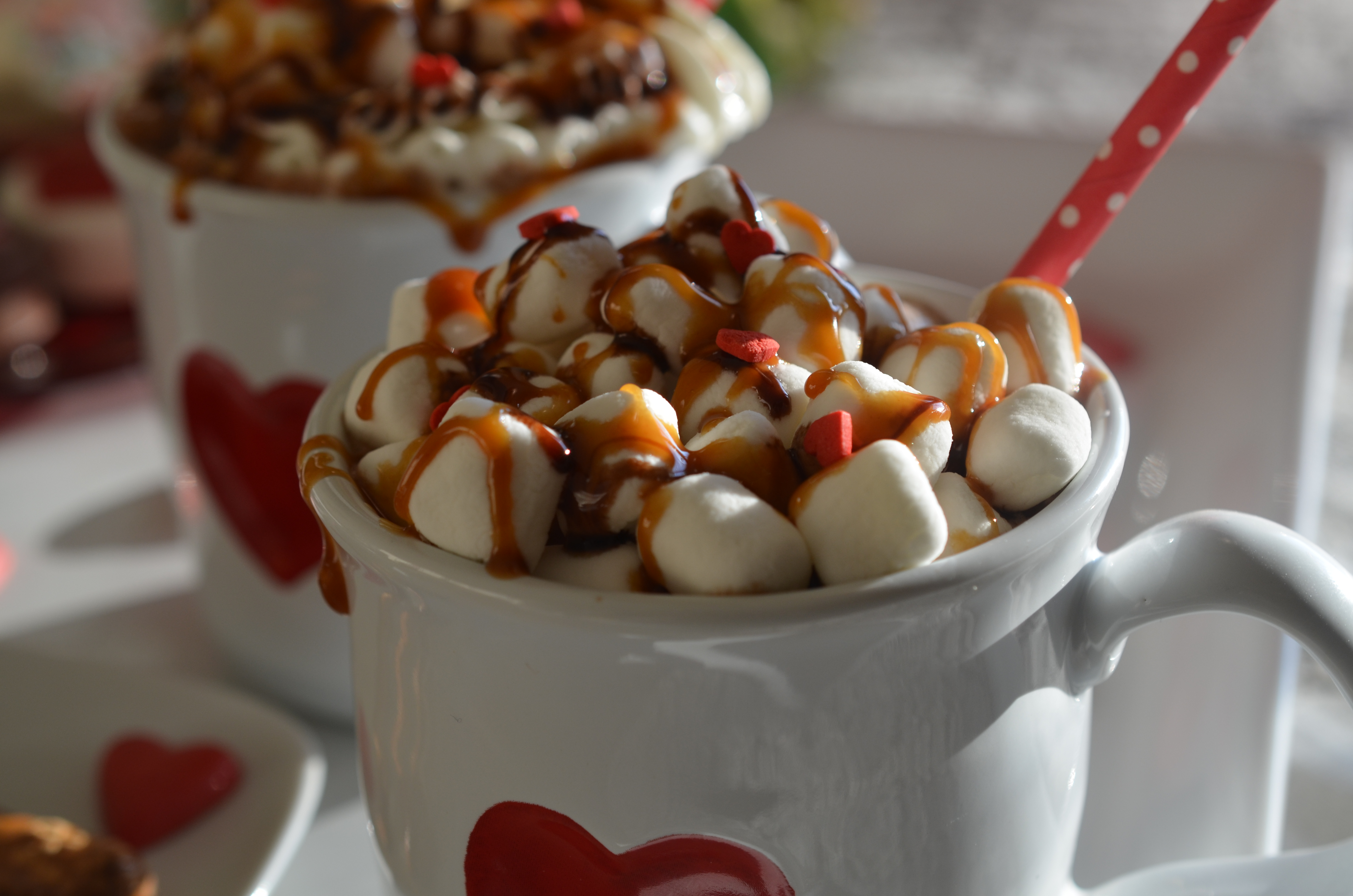 Salted Caramel Hot Chocolate | cookingwithauntjuju.com