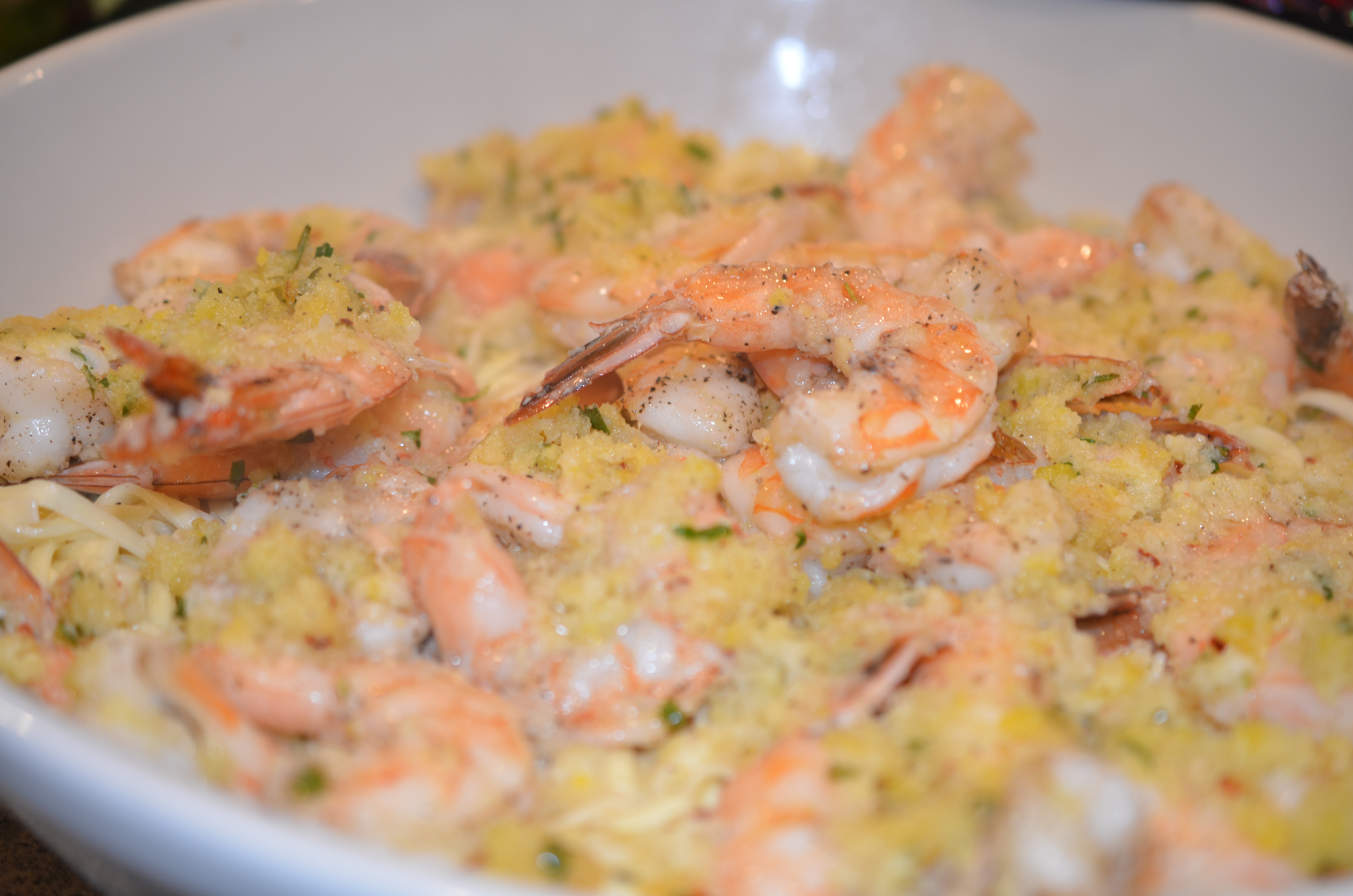 Ina S Baked Shrimp Scampi