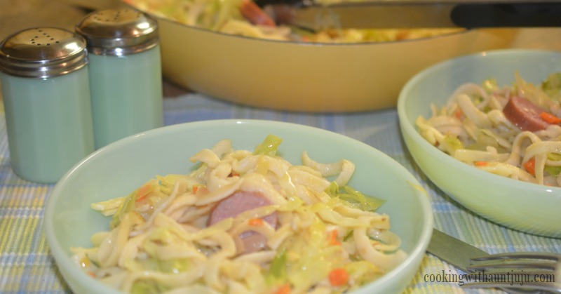 Cabbage and noodles cookingwithauntjuju different countries regions within those countries and even individual families have their own recipe forumfinder Choice Image